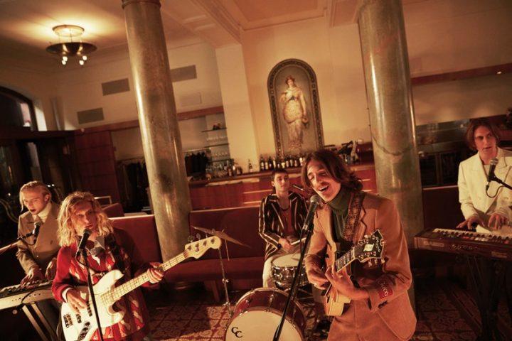 The parcels - Gruppo rock vintage testimonial Gucci