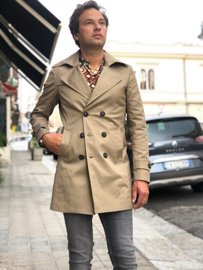 Trench beige Paul Miranda