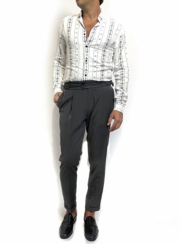 Camicie uomo, stile  retro