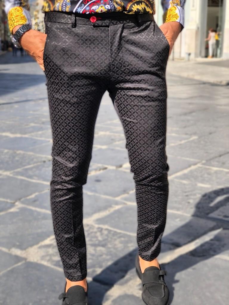Pantaloni uomo neri - Gogolfun.it