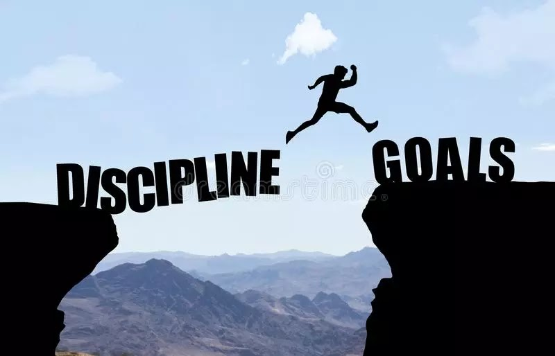Discipline and not motivation