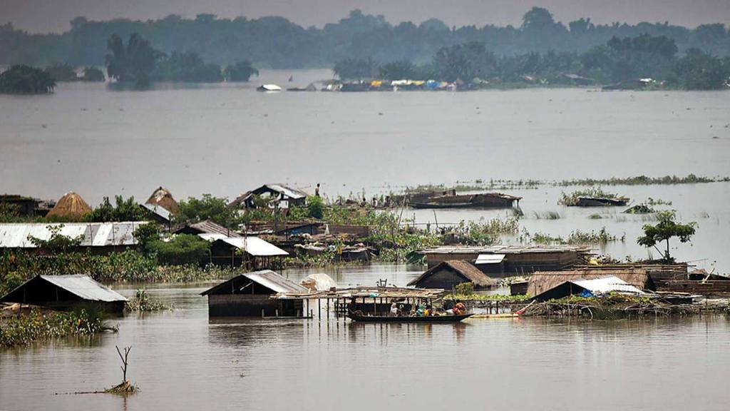ASSAM DEVASTATED BY FLOODS DURING COVID-19