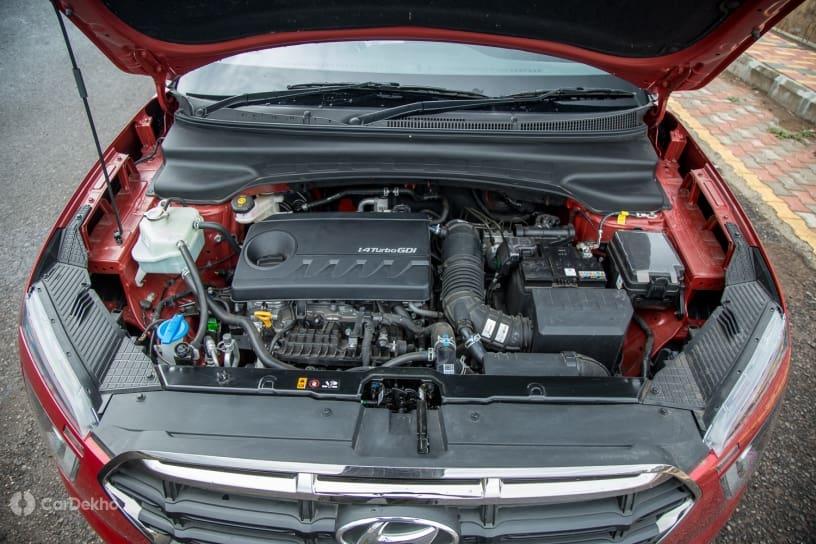 Description: Hyundai Creta 1.4-litre turbo-petrol engine