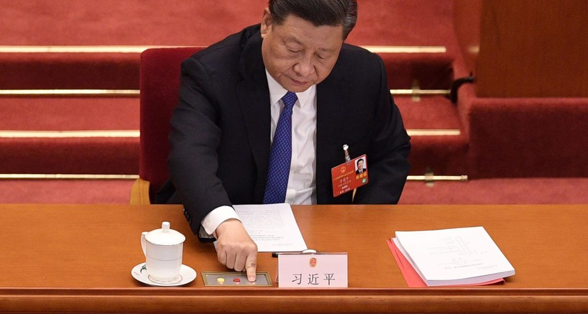 Security bill passed by China