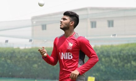 MEET UAE U-19 CRICKETER AARON WILLIAM BENJAMIN