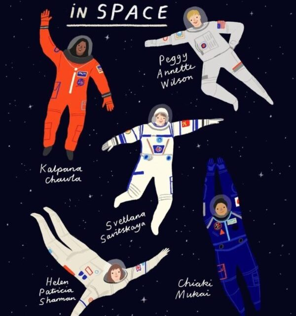Past, Present and Future of women in Space