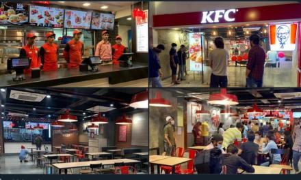 KFC – Kashmir for chicken – Kashmir gets it's first KFC
