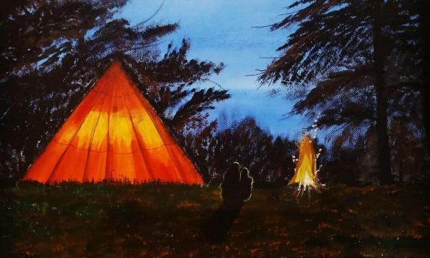 Nightlife in Campfire – @pincel_artistico1