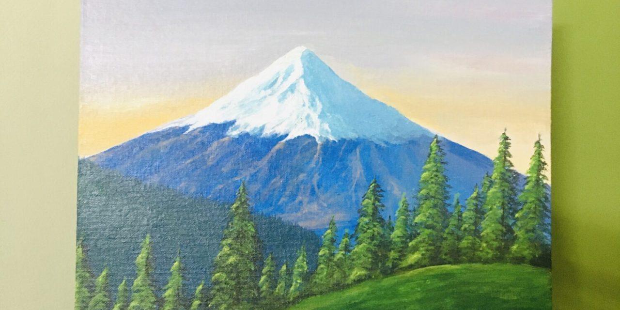 Mt. Fuji – @himanshi.art