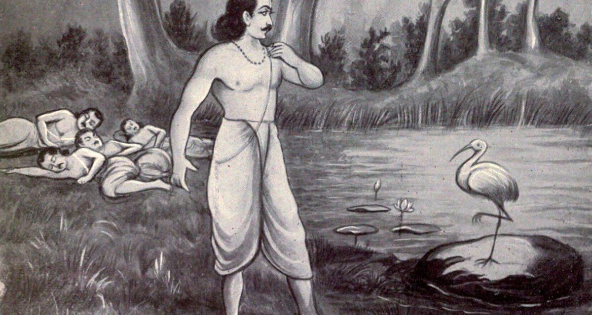 Yaksha's questions and Yudhishthira's answers