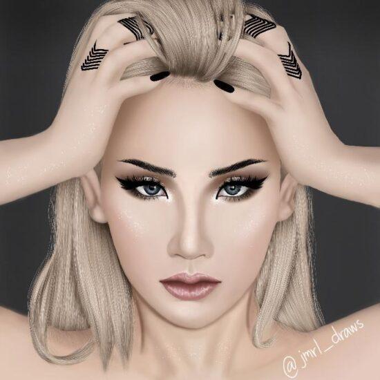 The baddest female CL – @jmrl_draws