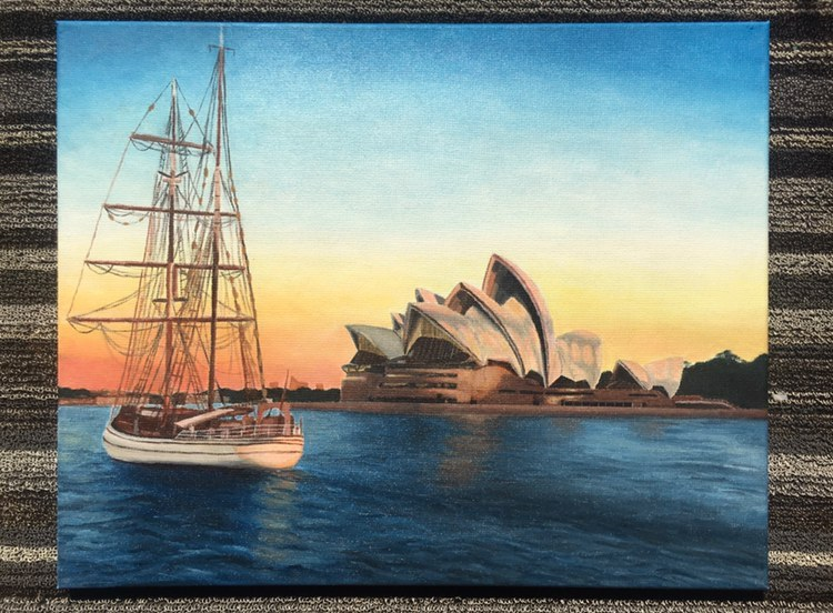Sydney Opera House – @jfong.paints