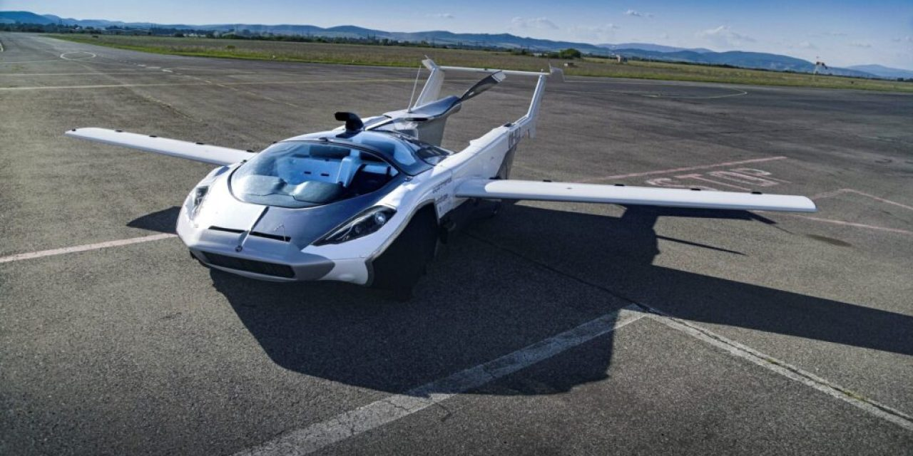 Sports car turns into aeroplane in minutes, completes maiden test flight