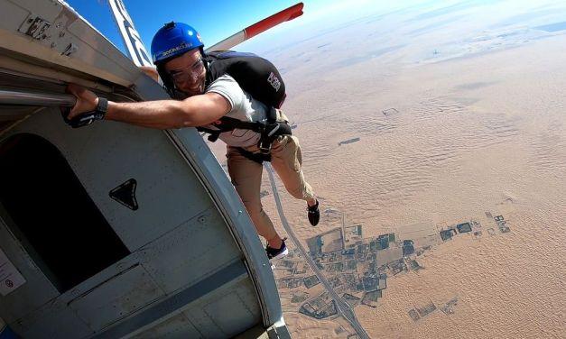 Sofiane NouIri – a Skydiver USPA B-License from Tunisia