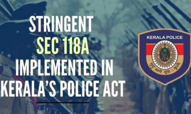 The Controversial Police Act in Kerala