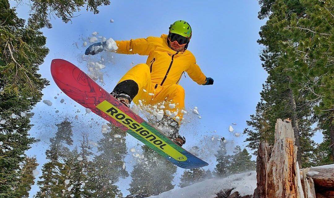 Yura Kostiukevych –  Freeride snowboarder ranked #20 in Americas World Qualifier 2018