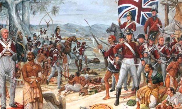 The British conquest of India