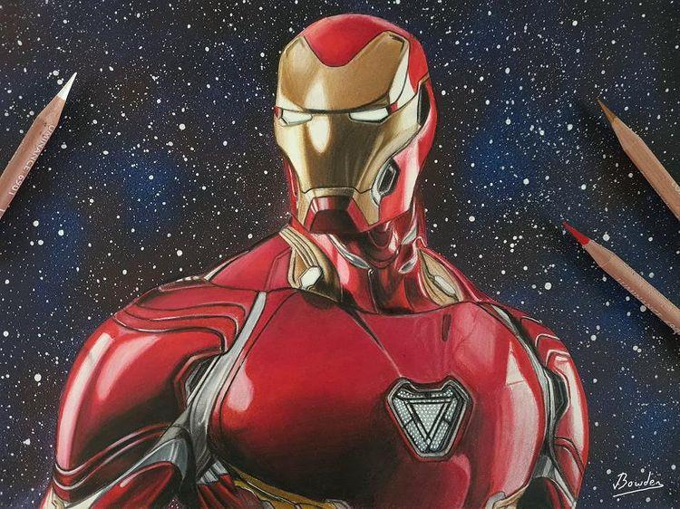 Iron Man – @joshbowdenart