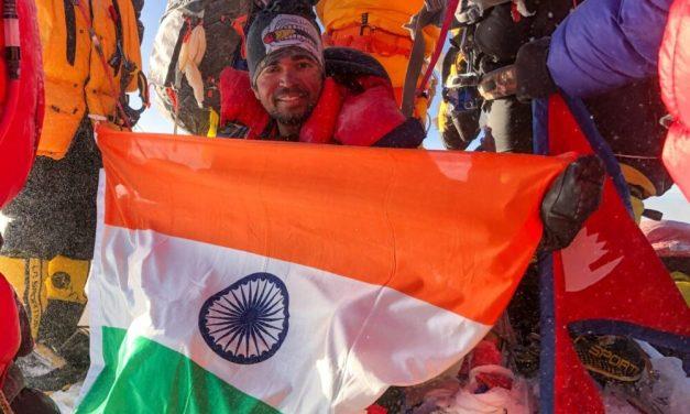 PARTH UPADHYAYA –  The youngest Mumbaikar to climb Mount Everest