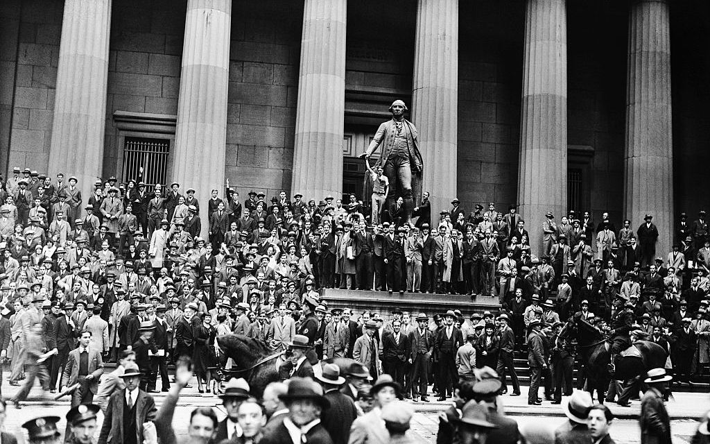 The crash of the Wall Street