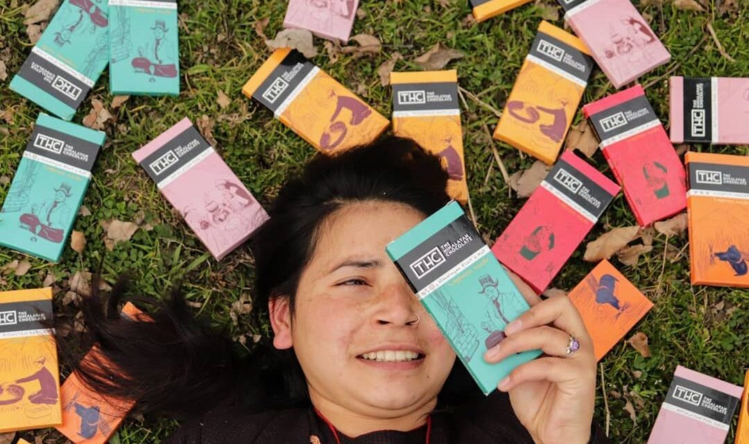 THE HIMALAYAN CHOCOLATE – Bringing pahadi flavoured chocolates packed with happiness to the cities   Creating livelihoods in the hills