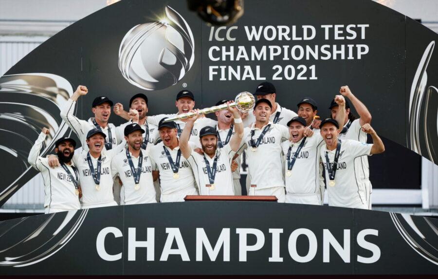 NEW ZEALAND WON THE INAUGURAL WORLD TEST CHAMPIONSHIP
