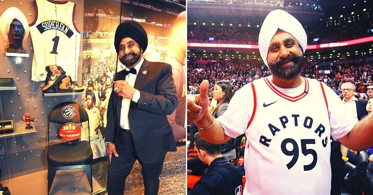 Nav Bhatia: A Toronto Raptors' superfan inducted