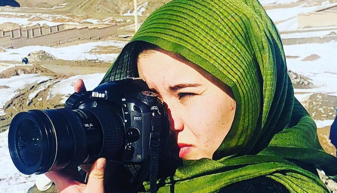 TAHMINA SALEEM – A lens woman from Afghanistan who is defying the odds