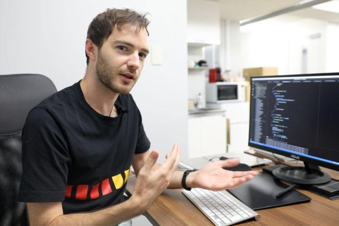 Andrzej Zamoyski - le développeur de Hiragana Quest