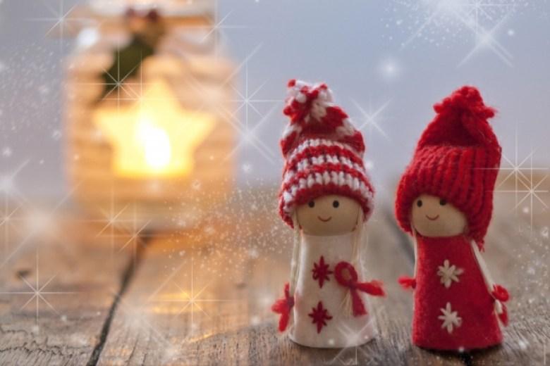 Una pareja de navidad