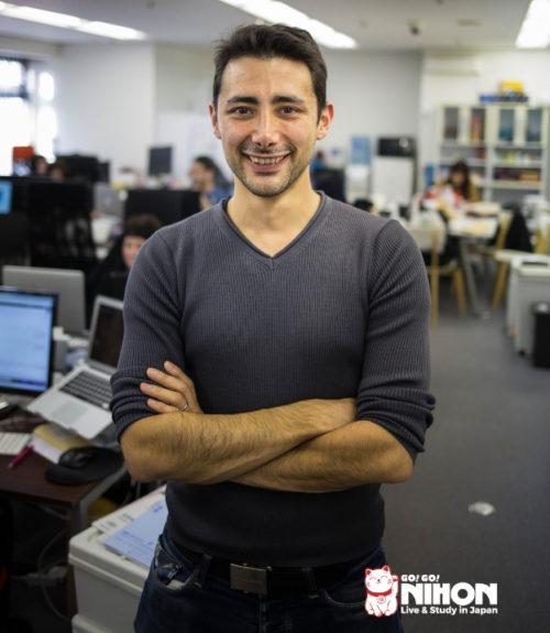 Davide Rossi in ufficio