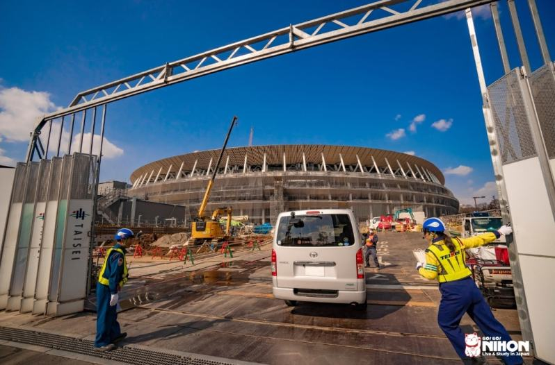 Constructions to prepare for Tokyo Olympics 2020-min