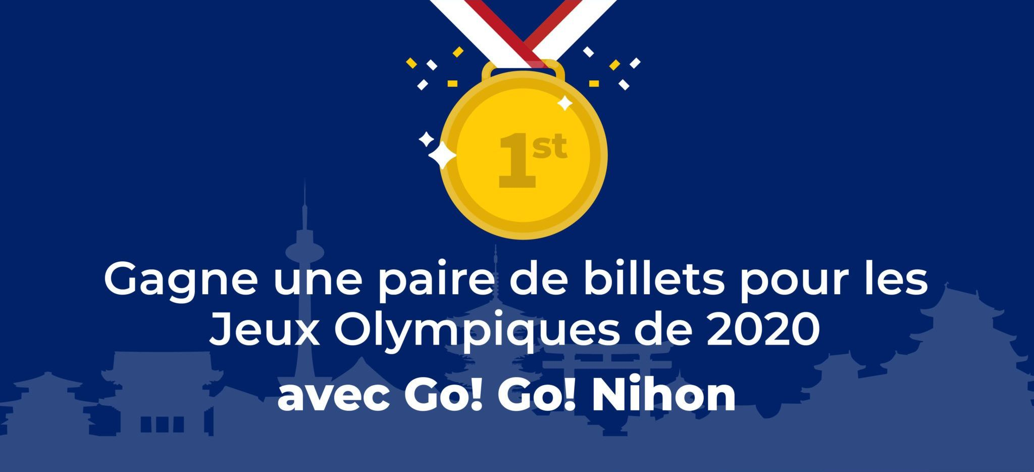 billets pour les Jeux Olympiques de 2020