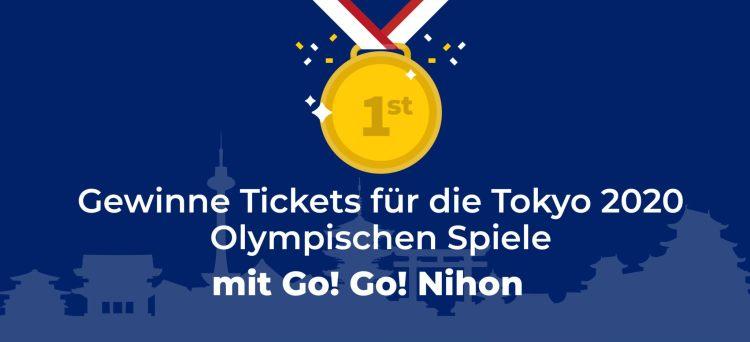 Tickets für die Tokyo 2020 Olympischen Spiele