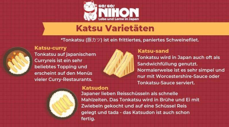 Die Vielfalt des japanischen Katsu