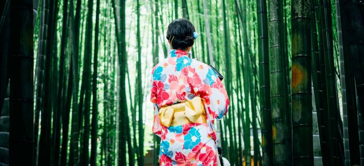 en japansk yukata