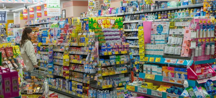 Drugstore in Japan