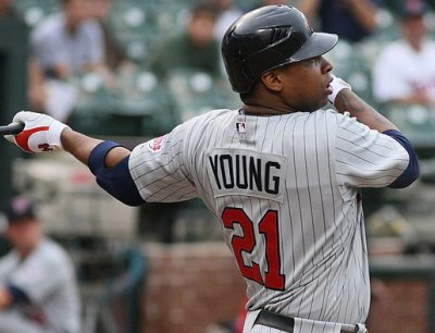 Minnesota Twin Delmon Young