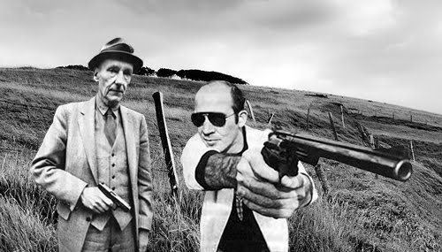 William S. Burroughs and Hunter S. Thompson