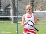 Dawson County High School Girls Tennis Marenah Crockett Strings