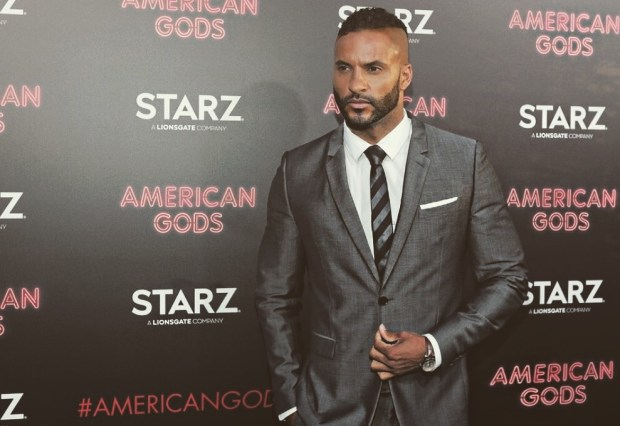 Ricky Whittle in a Suit