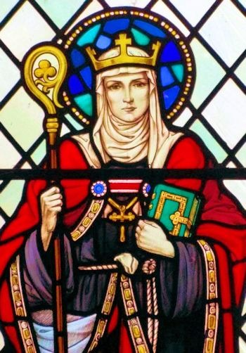 Saint Eanswida or Eanswythe