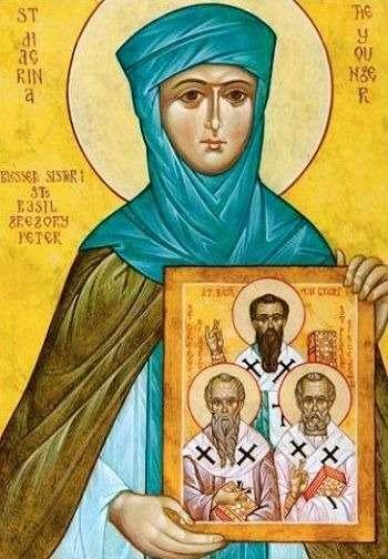 Saint-Macrina-the-Elder
