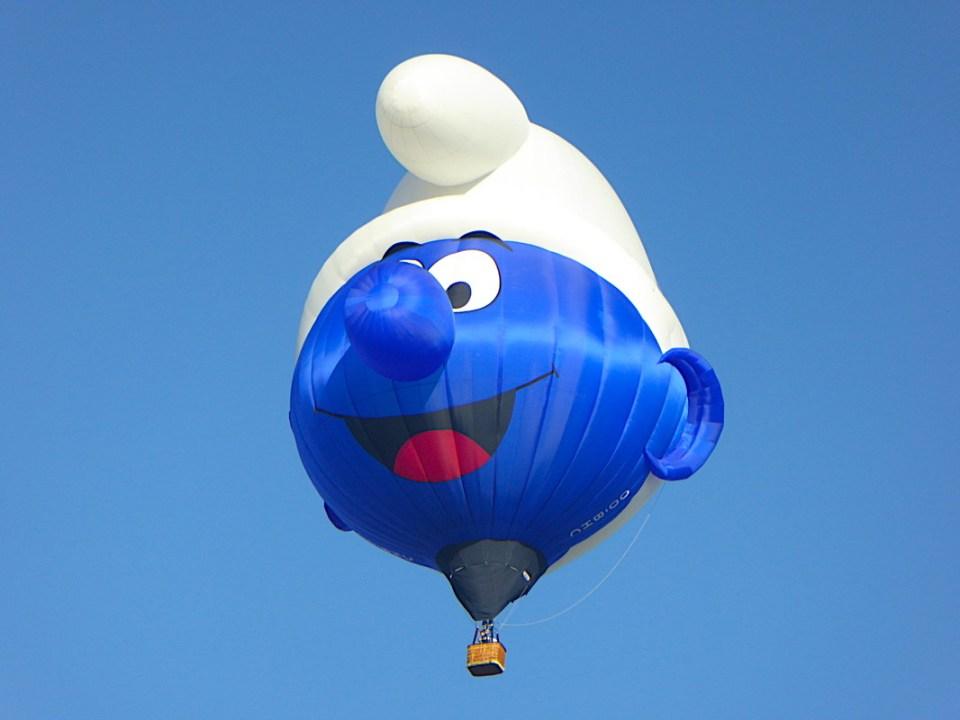 台東熱氣球,藍色小精靈,藍色小精靈熱氣球