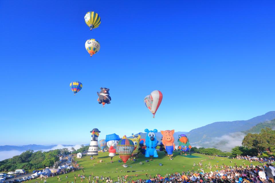 台東熱氣球,台東熱氣球時間,台東熱氣球價格,台東熱氣球嘉年華,台東熱氣球開幕升空