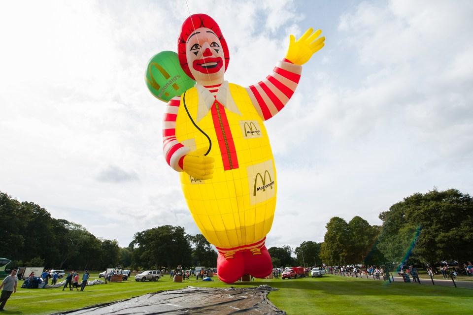 台東熱氣球,麥當勞,麥當勞叔叔熱氣球