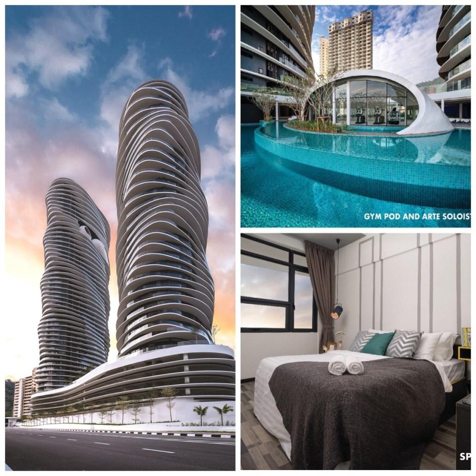 公寓式飯店,馬來西亞,檳城,自助,旅遊,檳城景點,馬來西亞景點