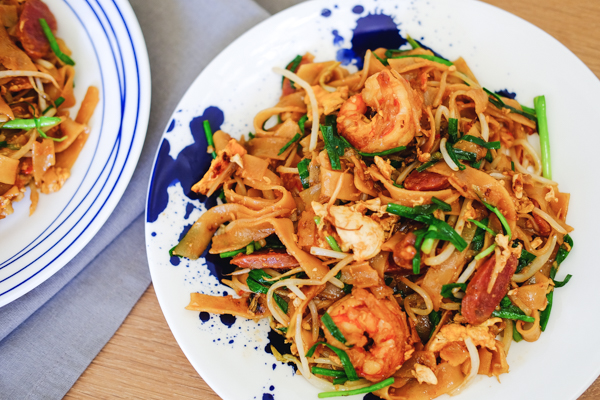 炒粿條,馬來西亞,檳城,自助,旅遊,馬來西亞美食