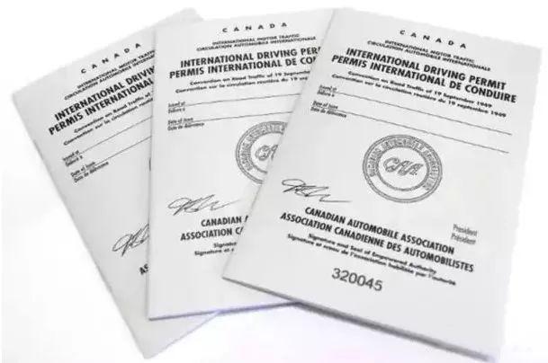 互惠國發行之國際駕照
