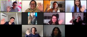 Torre's weekly virtual meetup